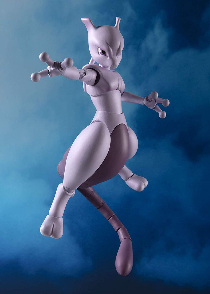 Bandai S.H. Figuarts Mewtwo -Arts Remix- Figure (Pokémon)