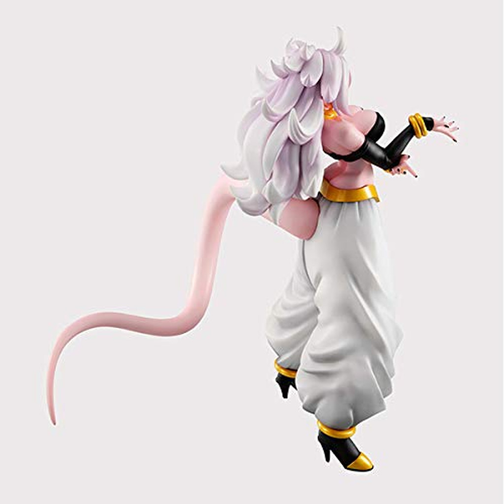 MegaHouse Dragon Ball Gals: Android 21 Transformed Ver. Figure (Dragon Ball FighterZ)
