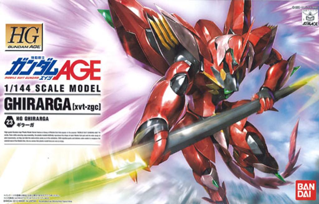 Bandai Gundam HG AGE-23 GHIRARGA (xvt-zgc) 1/144 Scale Kit