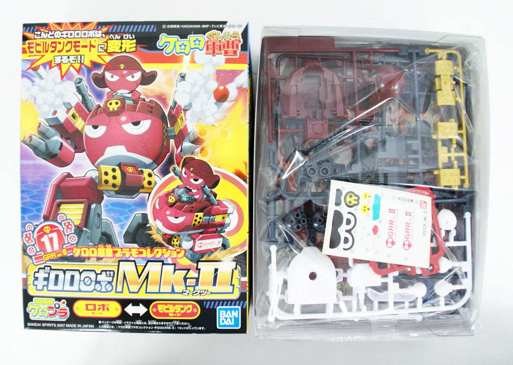 Bandai Keroro Gunso 17 Giroro Robo Mk-II  Plastic Model Kit