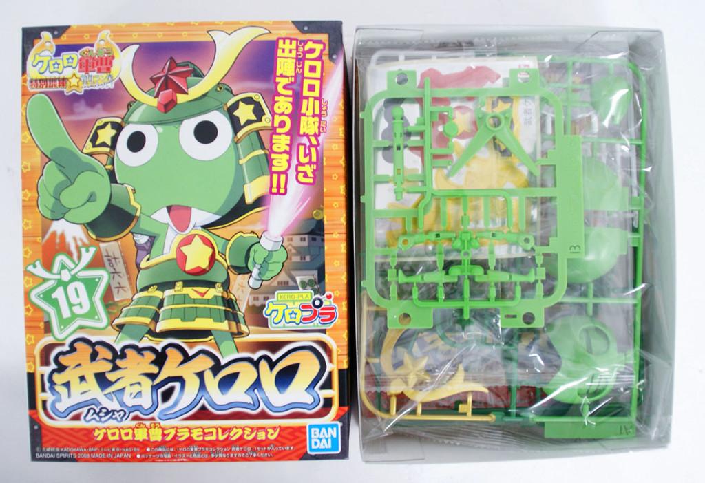 Bandai Keroro Gunso 19 Musya Keroro Plastic Model Kit