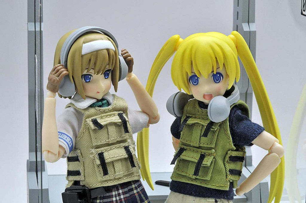 Tomytec LD010 Military Series Little Armory Shooting Range A 1/12 Kit