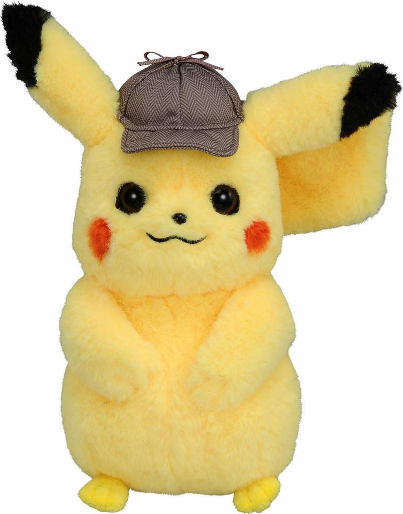 Takara Tomy Plush Doll Pokemon Detective Pikachu