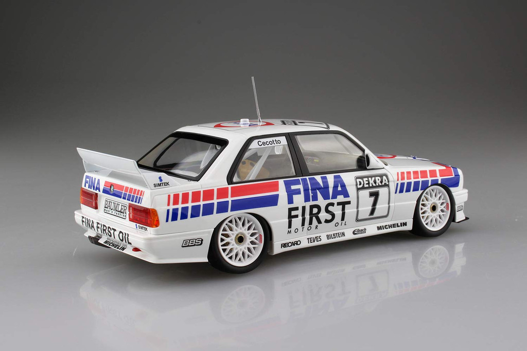 Aoshima 06303 BMW M3 E30 Sport Evolution '92 German Ver. 1/24 scale kit