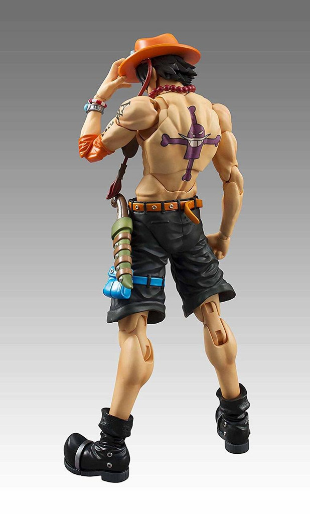 MegaHouse Variable Action Heroes Portgas D. Ace Figure (One Piece)