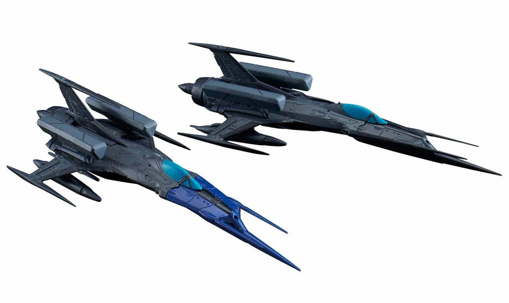 Bandai Mecha Collection 2022 Model 52bis Autonomous Space Fighter Black Bird Set Non Scale Kit