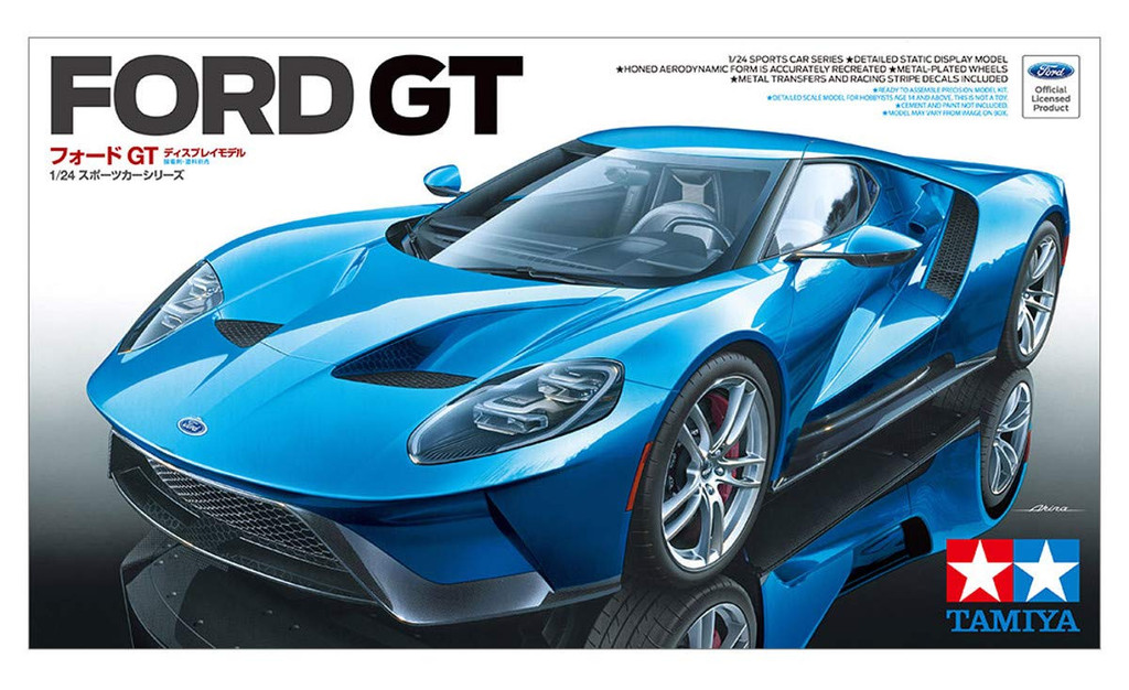 Tamiya 24346 Ford GT 1/24 scale kit