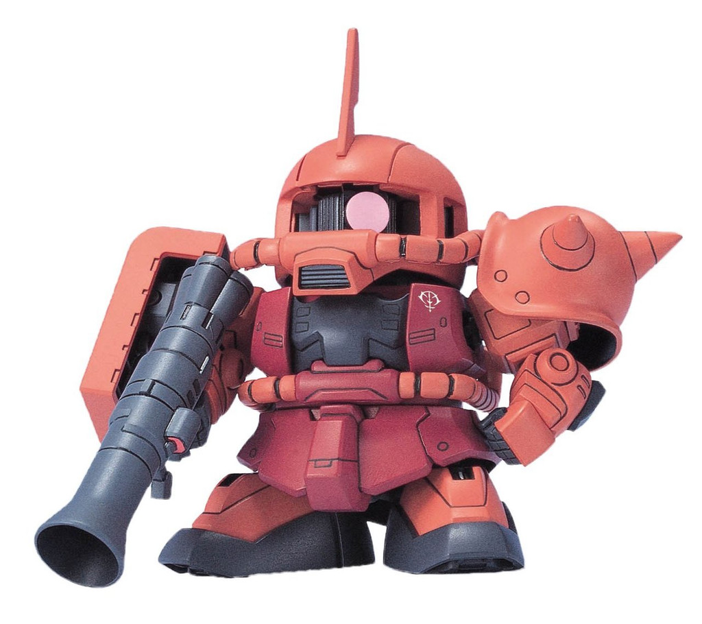 Bandai SD BB 231 Gundam Zaku II Plastic Model Kit
