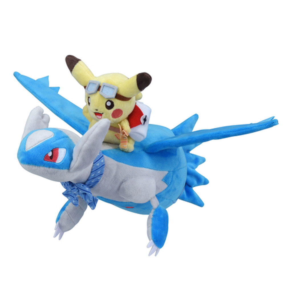 Pokemon Center Original Plush Doll Pikachu Riding Latios