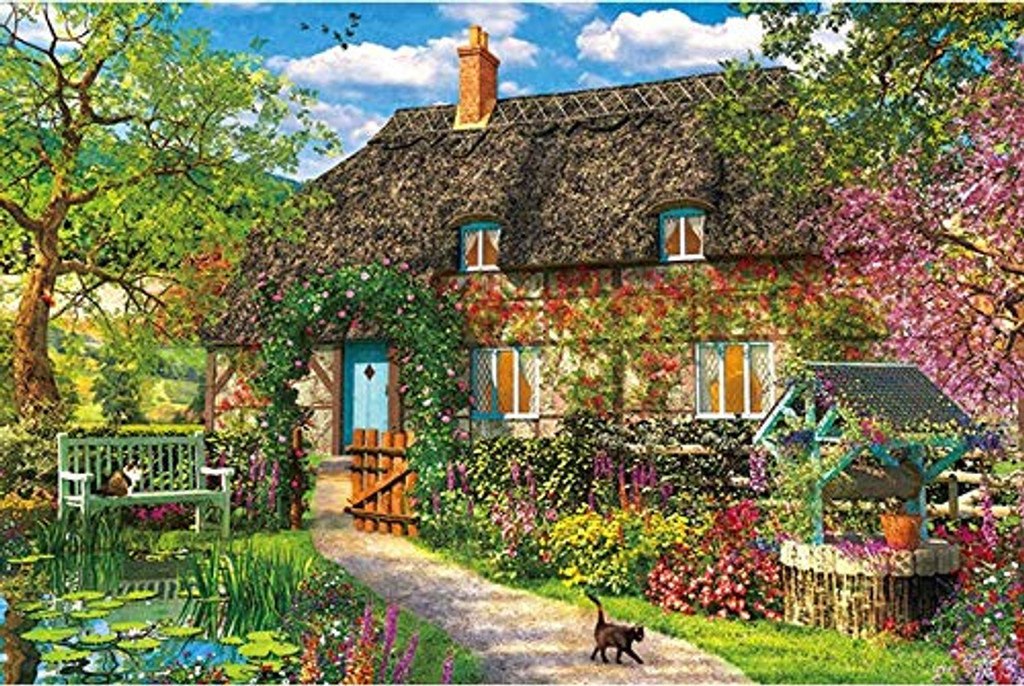 APPLEONE Jigsaw Puzzle 1000-836 Dominic Davison Flower Season (1000 Pieces)
