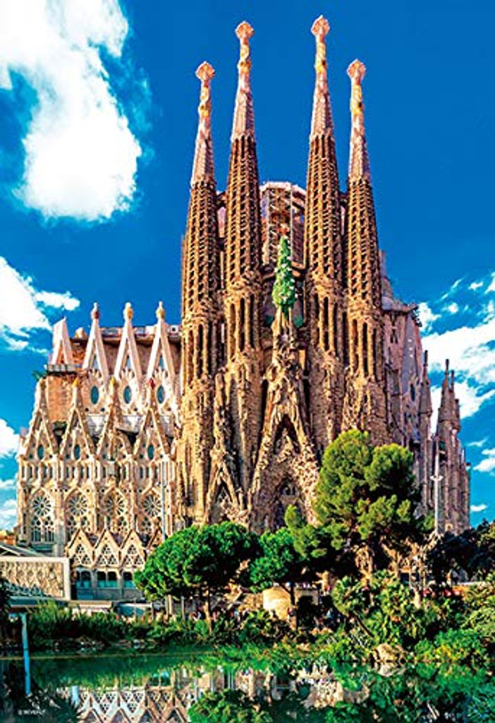 Beverly Jigsaw Puzzle M81-567 Sagrada Familia Spain (1000 Micro Pieces)