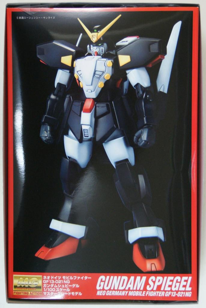 Bandai MG 128188 Gundam GF13-021NG SPIEGEL 1/100 Scale Kit