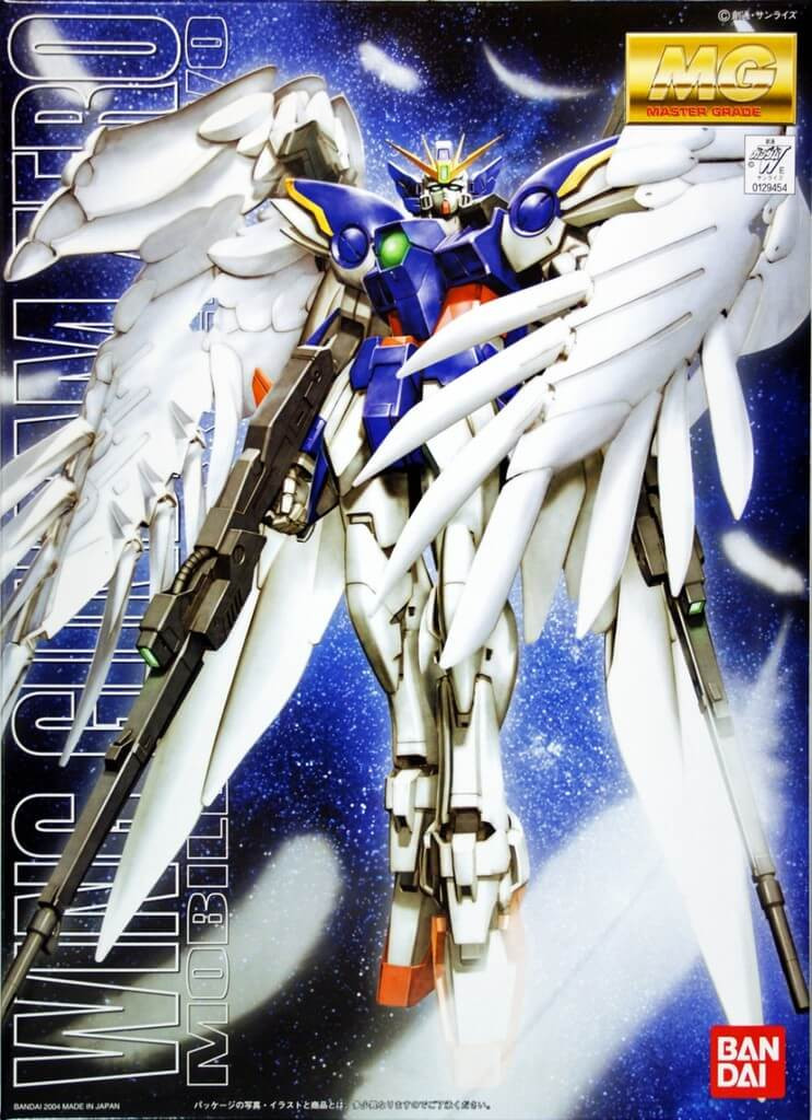 Bandai MG 294548 Gundam WING Gundam ZERO Endless Waltz 1/100 Scale Kit