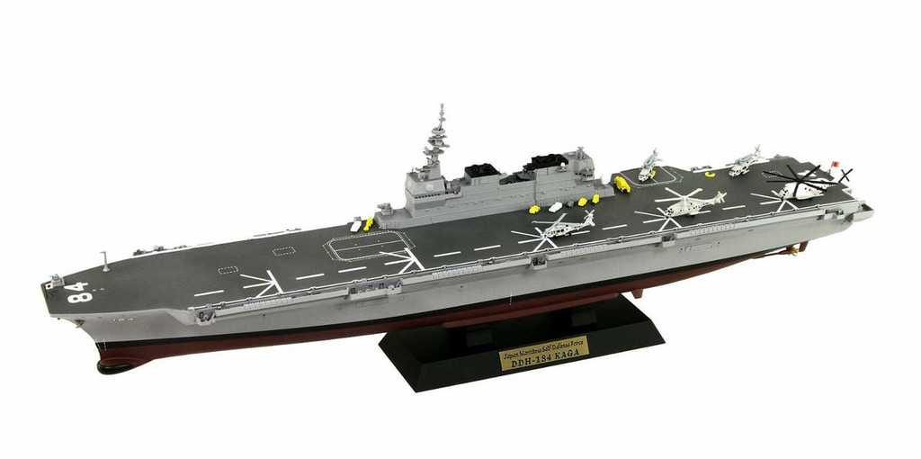 Pit-Road J75NH JMSDF Destroyer DDH-184 Kaga w/Photo-Etched Parts 1/700 scale kit