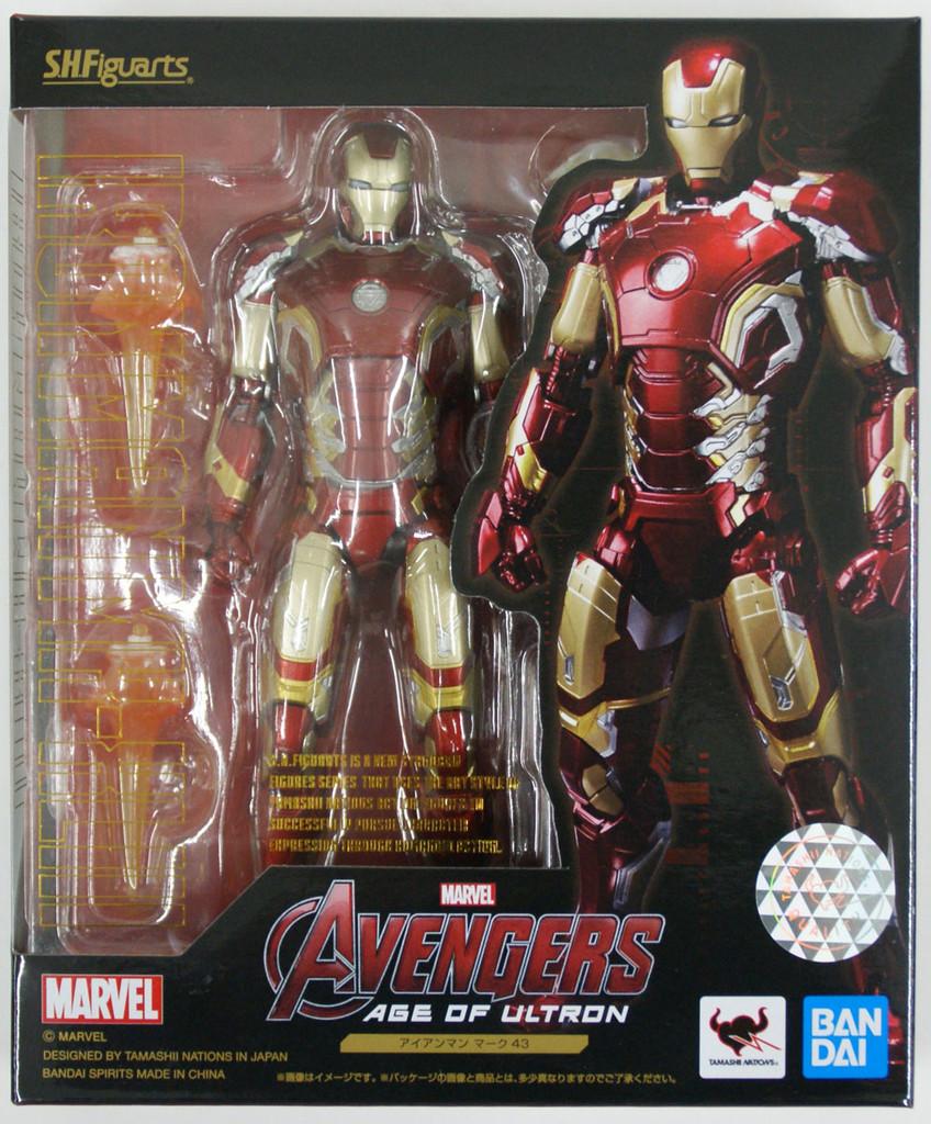 Bandai S.H. Figuarts Iron Man Mark 43 Figure