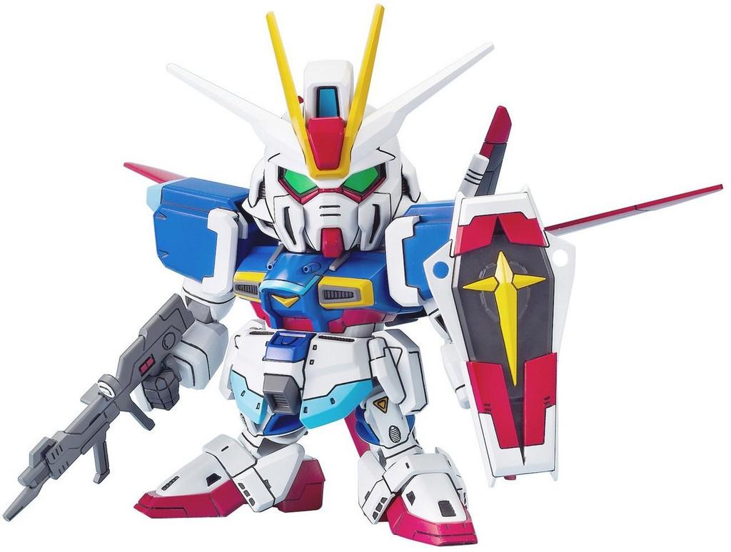 Bandai SD BB 280 Force Impulse Gundam Plastic Model Kit
