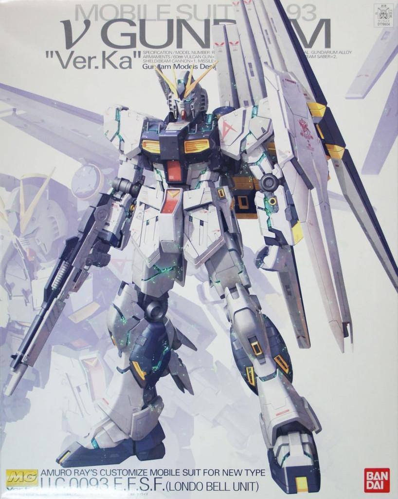 Bandai MG Nu Gundam Ver. Ka U.C.0093 E.F.S.F. (Londo Bell Unit) 1/100 scale kit