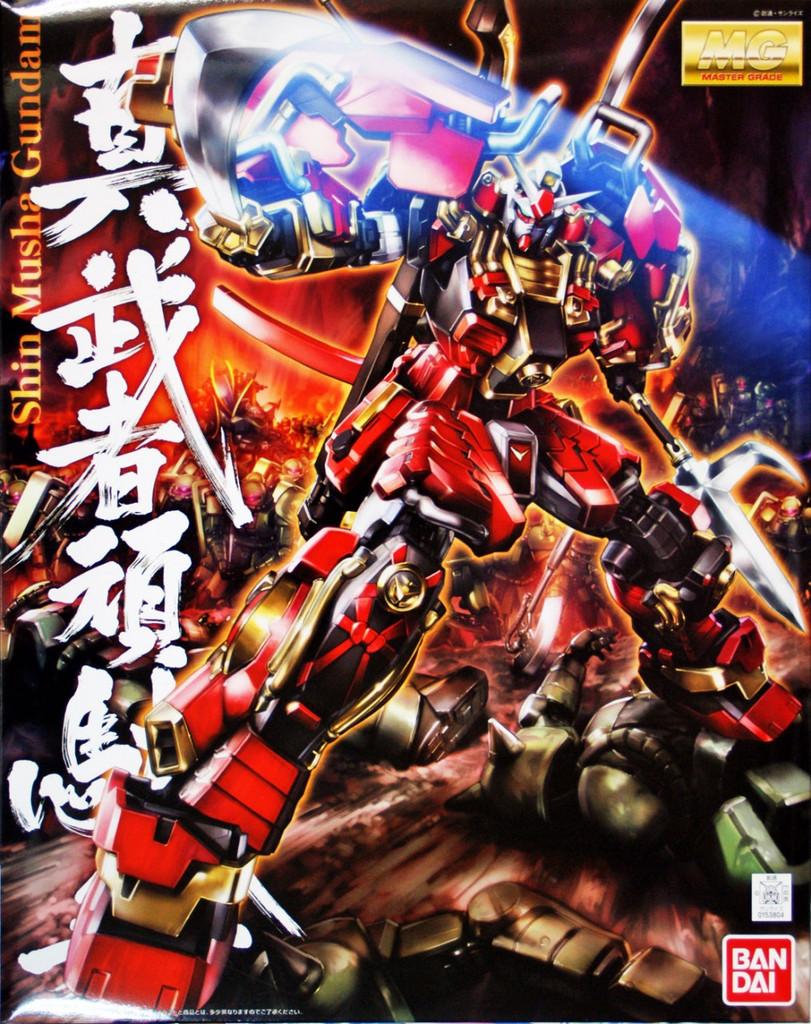 Bandai MG 538048 Gundam Shin Musha Gundam 1/100 Scale Kit