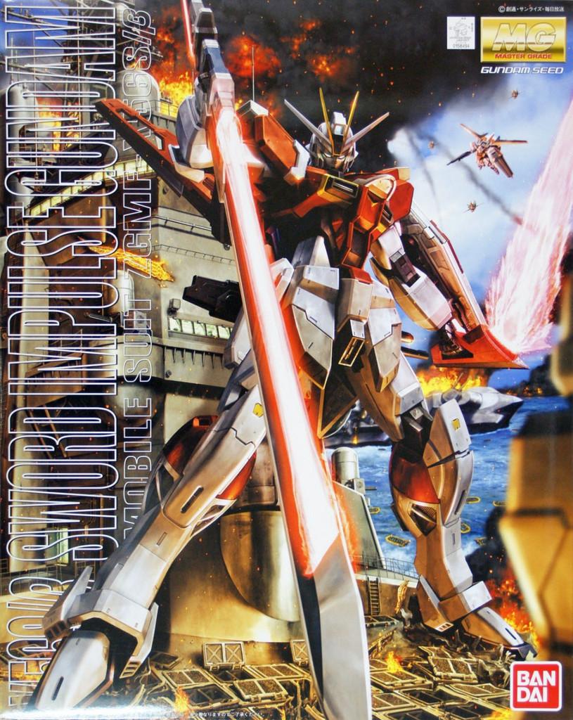 Bandai MG 584946 Gundam Sword Impulse Gundam 1/100 Scale Kit