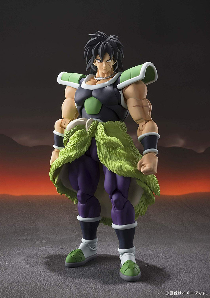 Bandai S.H. Figuarts Broly -Super- Figure (Dragon Ball Super Broly)