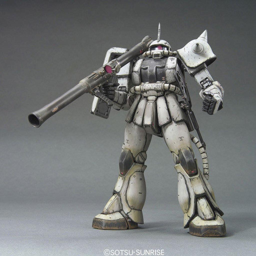 Bandai MG 590558 Gundam MS-06J ZAKU II WHITE OGRE 1/100 Scale Kit