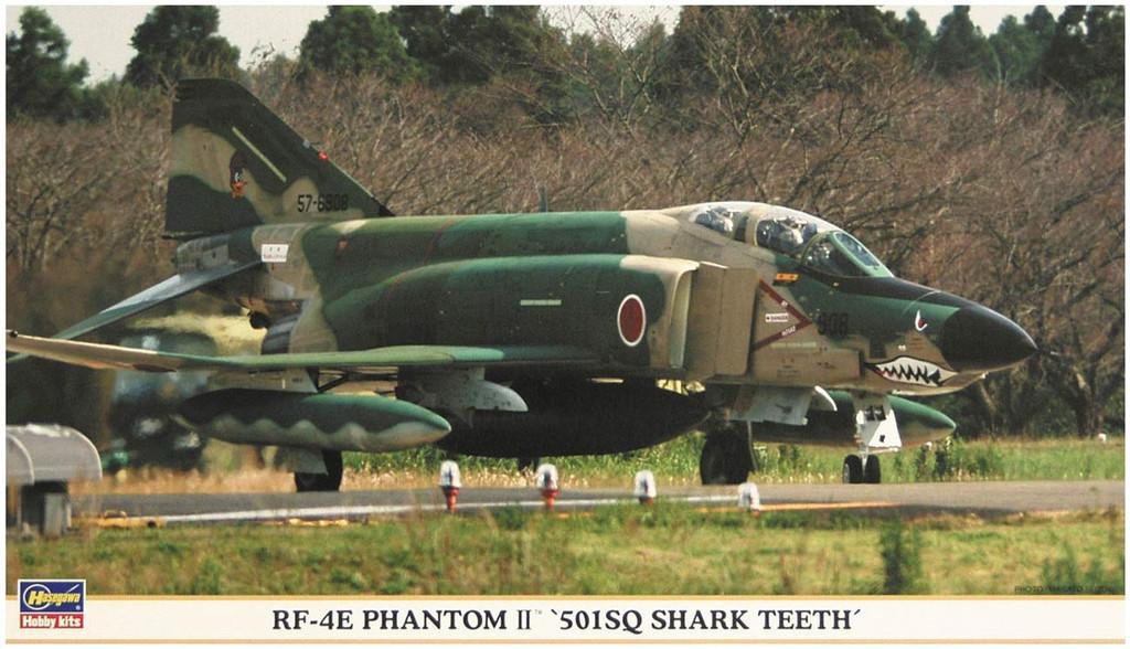 Hasegawa 00772 JASDF RF-4E Phantom II The 501st Squadron Shark Teeth 1/72 scale kit