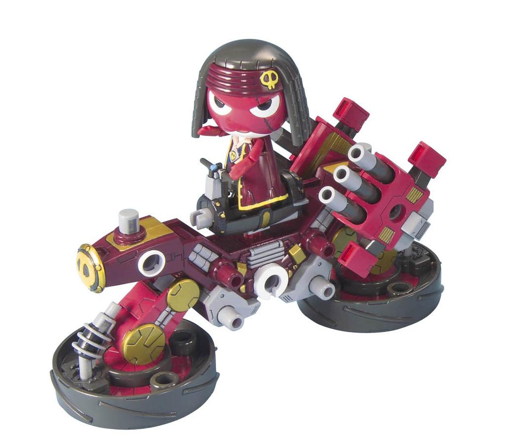 Bandai Keroro Gunso 38 Bomba Giroro & Giro Cannon 1/12 Scale Kit