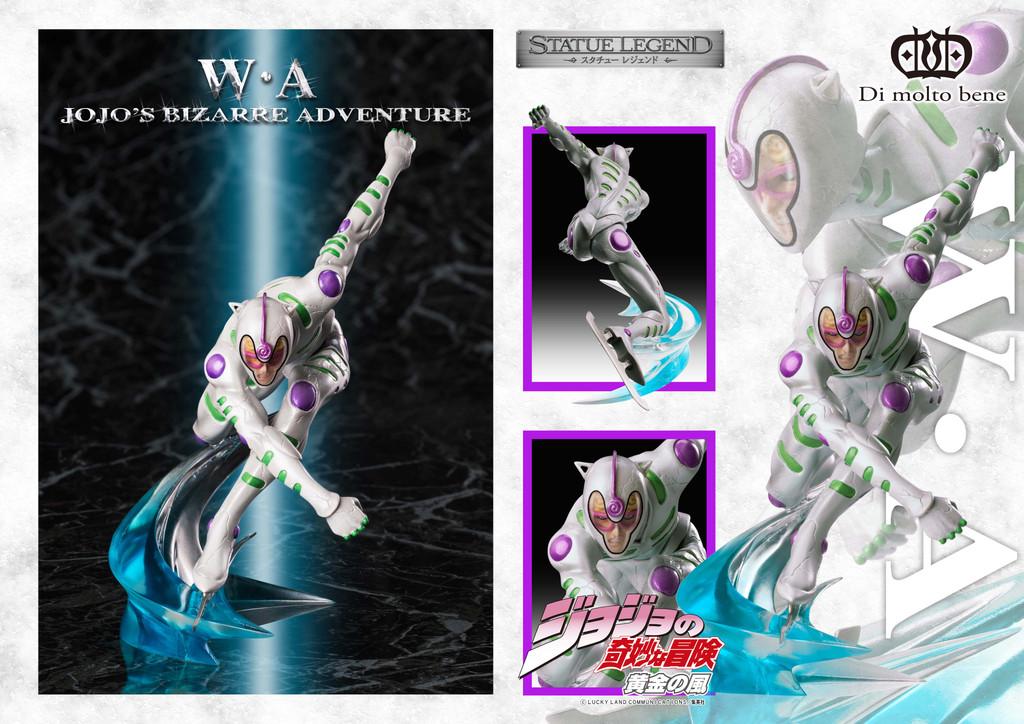 Di molto bene Statue Legend White Album Figure (Jojo's Bizarre Adventure Part 5 Golden Wind)