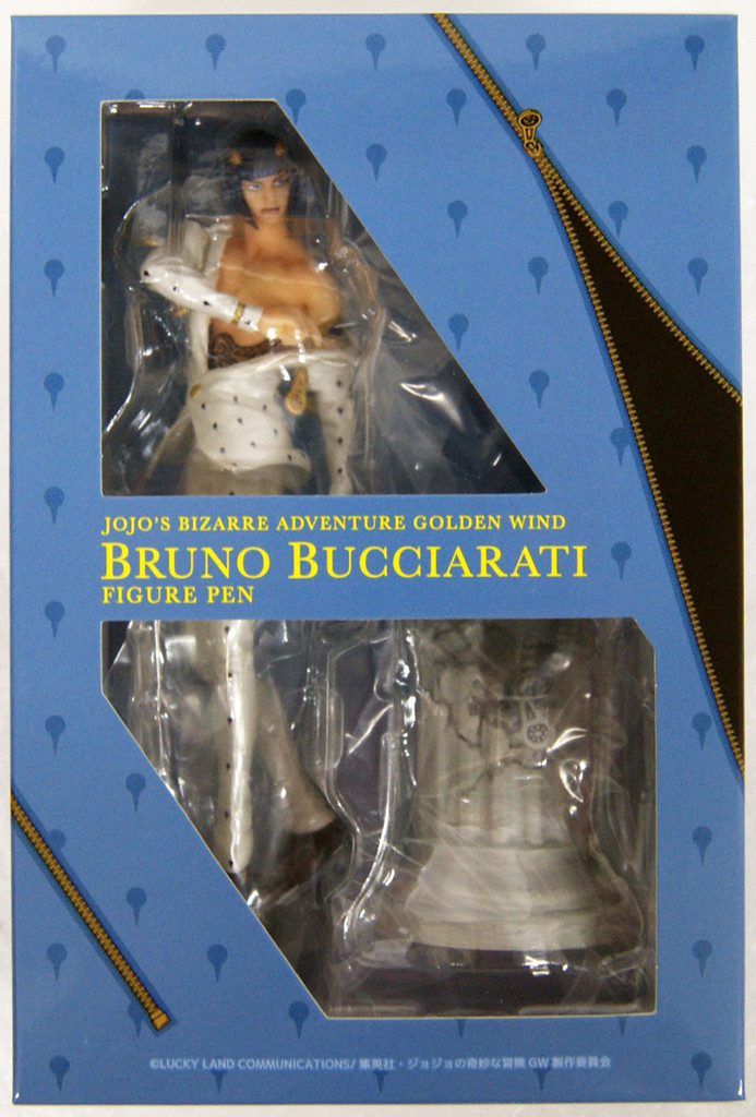 Di molto bene TV Anime Jojo's Bizarre Adventure Golden Wind Bruno Bucciarati Figure Pen