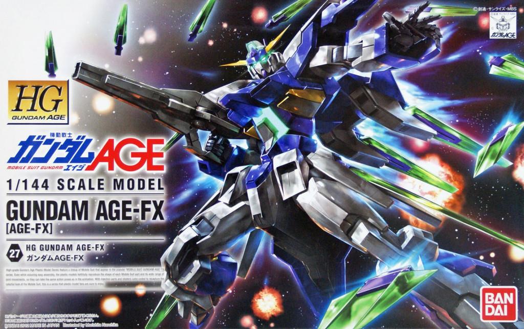 Bandai Gundam HG AGE-27 Gundam AGE-FX 1/144 Scale Kit