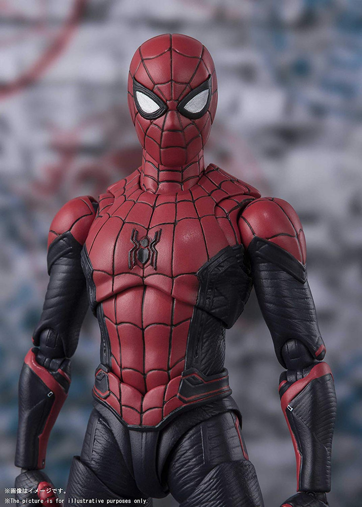 Bandai S.H. Figuarts Spider-Man Upgrade Suit Figure (Spider-Man: Far From Home)