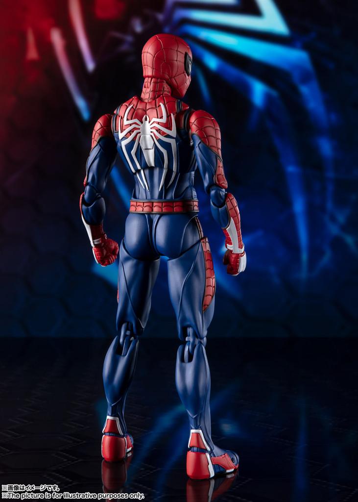 Bandai S.H. Figuarts Spider-Man Advanced Suit Figure (Marvel's Spider-Man)