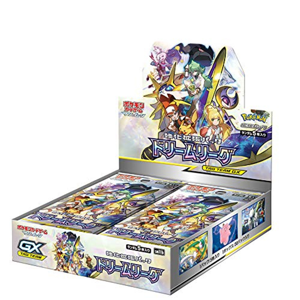 Pokemon Card Game Sun & Moon SM11b Dream League Booster Pack BOX