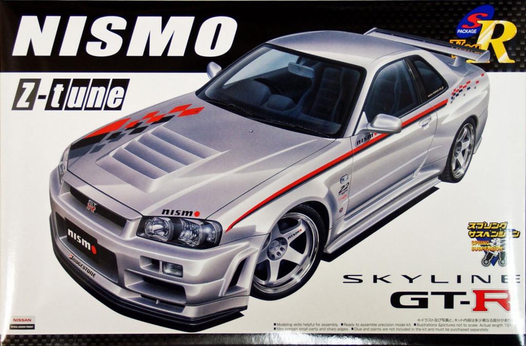 Aoshima 43509 Nissan Skyline GT-R (R34) NISMO Z-tune 1/24 Scale Kit