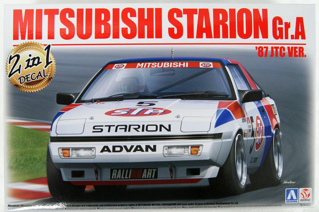 Aoshima BEEMAX 06105 Mitsubishi Starion Gr.A '87 JTC Ver. 1/24 Scale Kit
