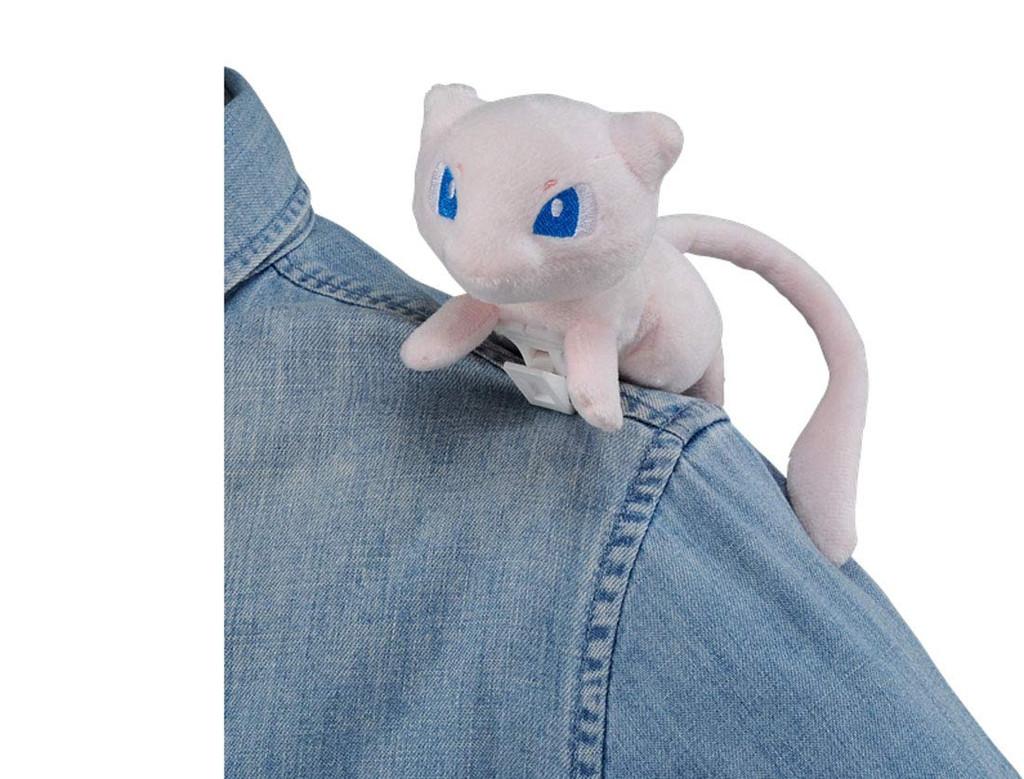 Takara Tomy Pokemon Clip Plush Doll Little Mew