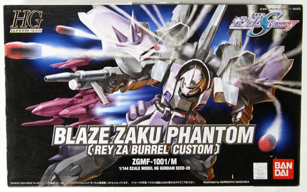 Bandai HG Gundam Seed Destiny Blaze Zaku Phantom 1/144 Scale Kit