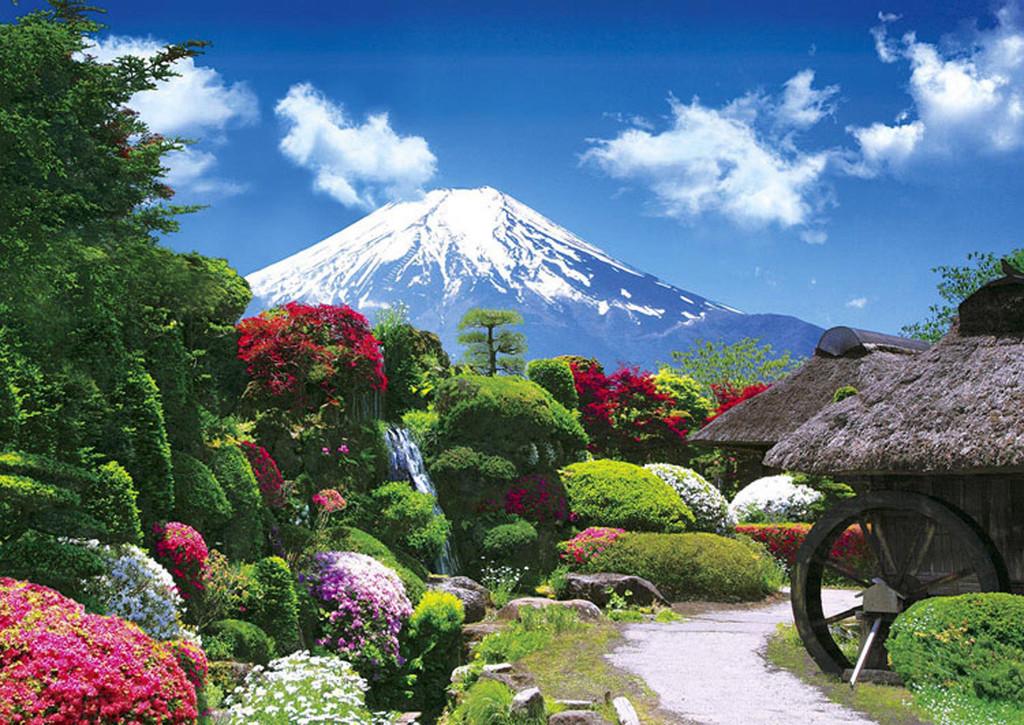 Apollo-sha Jigsaw Puzzle 41-316 Japanese Scenery Mt. Fuji (108 Pieces)