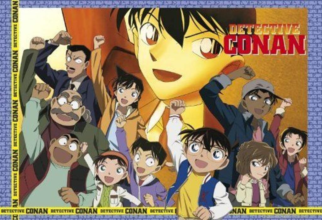 Apollo-sha Jigsaw Puzzle 46-511 Japanese Anime Detective CONAN (450 S-Pieces)