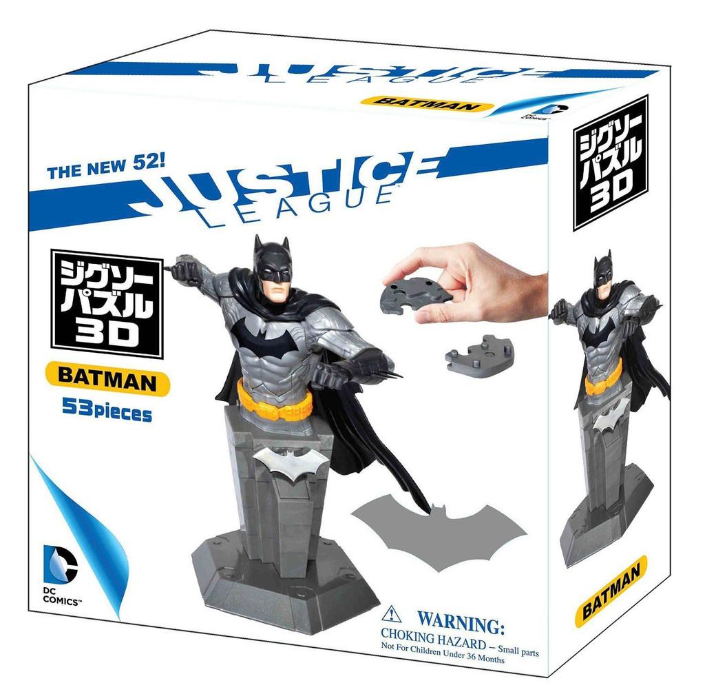 Beverly Car Puzzle 3D CP3-014 Batman (53 pcs) 4977524484974