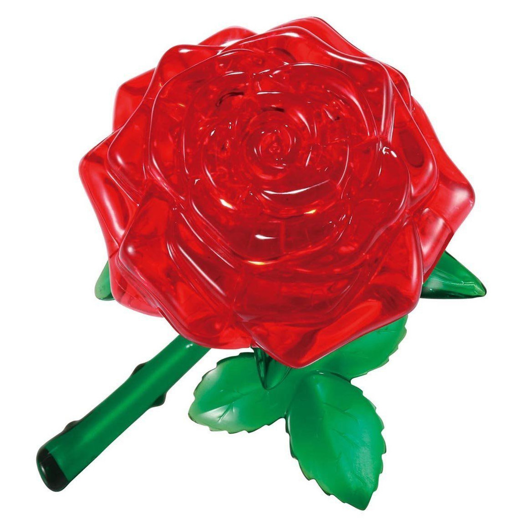 Beverly Crystal 3D Puzzle 50113 Red Rose