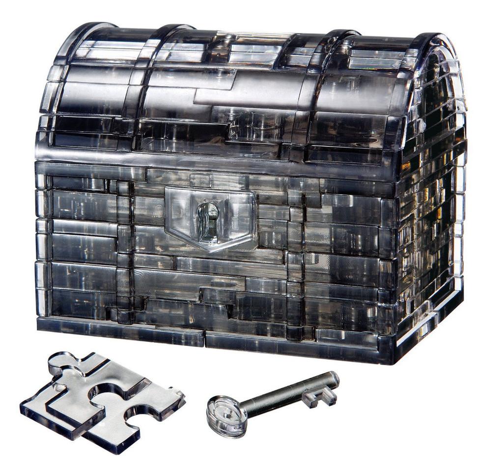Beverly Crystal 3D Puzzle 50137 Treasure Box Black
