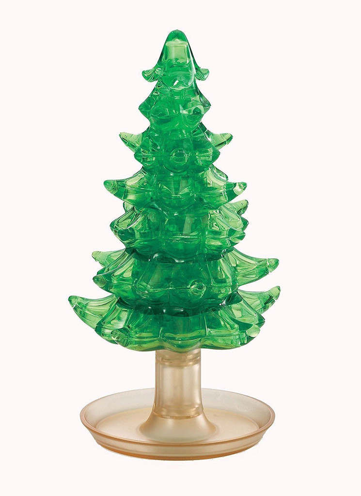 Beverly Crystal 3D Puzzle 50211 Crystal Tree Green