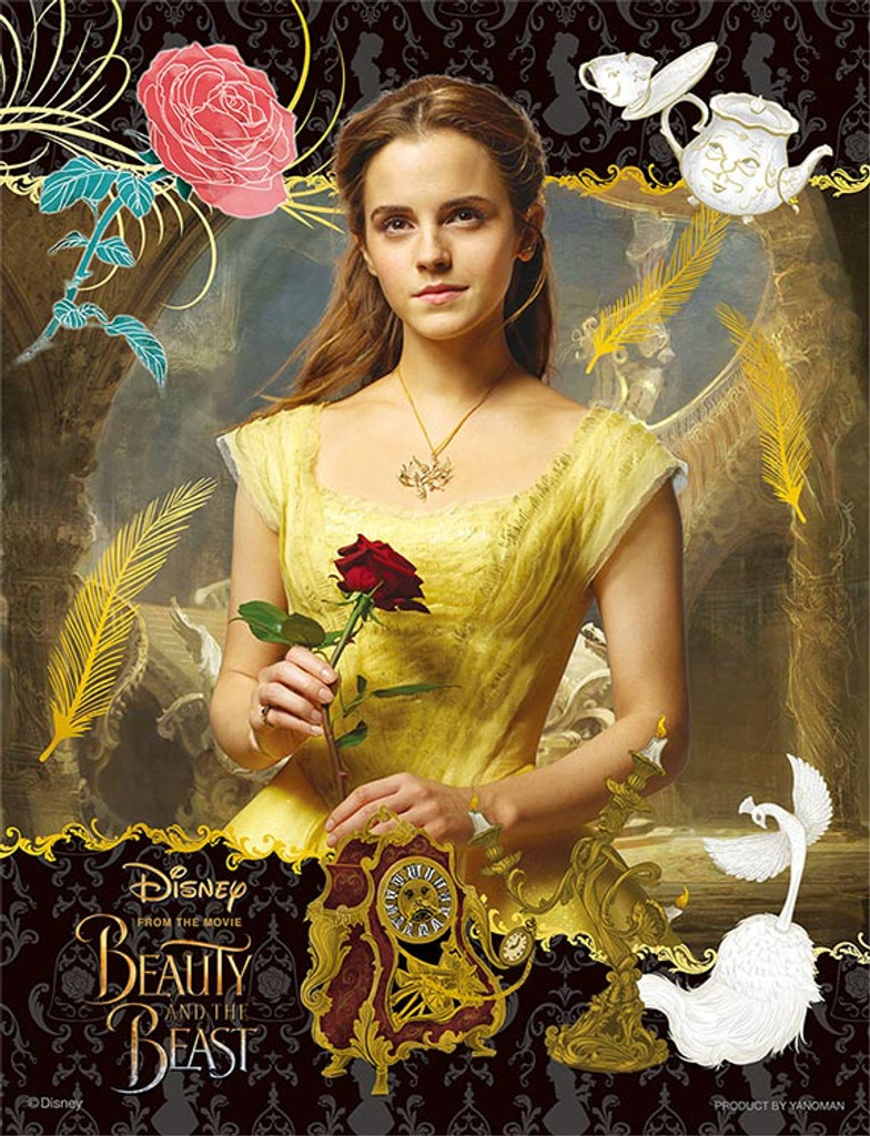Yanoman Jigsaw Puzzle 42-39 Disney Beauty and the Beast (300 Small Pieces) NZA