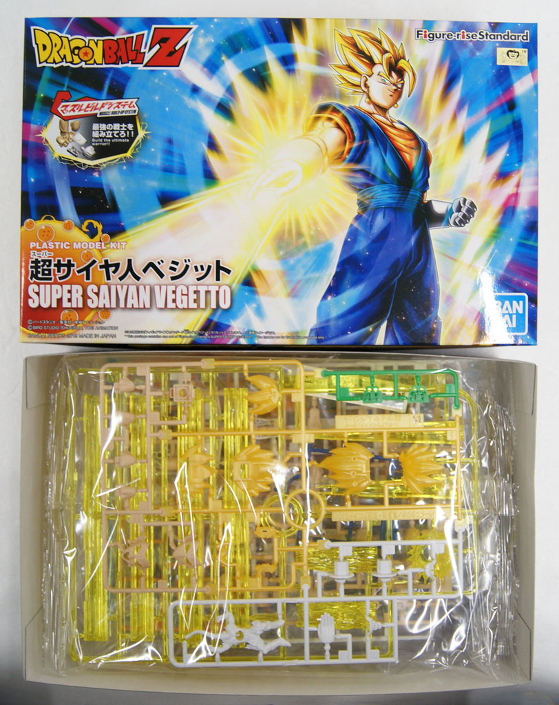 Bandai Figure-Rise Dragon Ball Super Saiyan Vegetto Renewal Package Model Kit