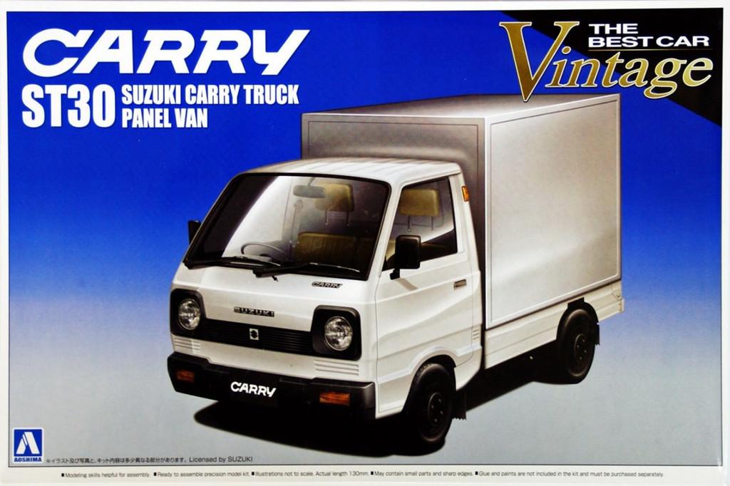 Aoshima 00267 Suzuki Carry Truck ST30 Panel Van 1/24 Scale Kit