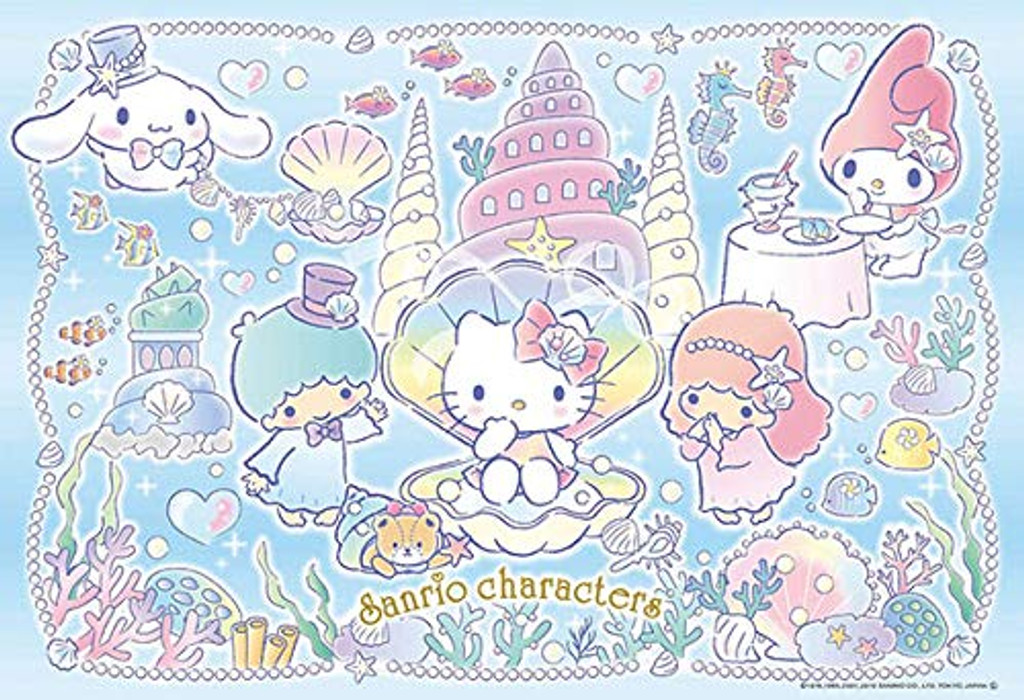 Beverly Jigsaw Puzzle 33-170 Sanrio Characters Sea Party (300 Pieces)