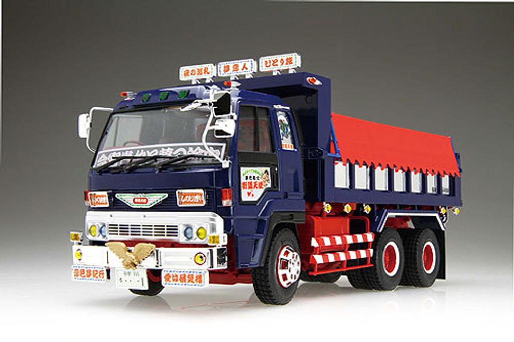 Aoshima 04890 GAIDO TENSHI Japanese Dump (Lorry) Truck 1/32 Scale Kit