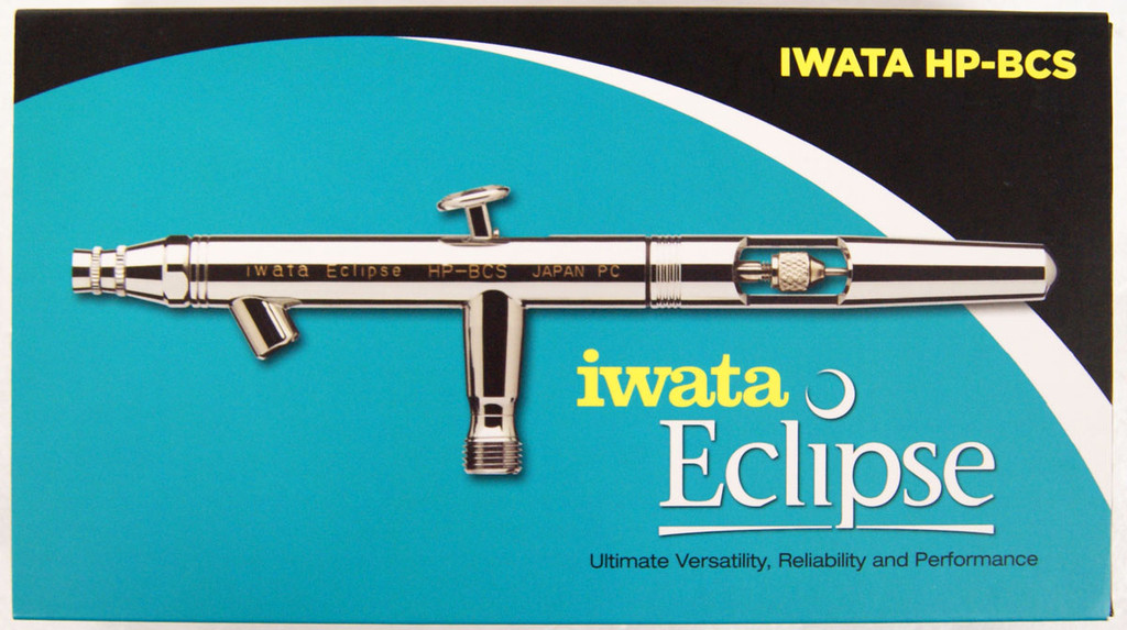 Anest Iwata HP-BCS Air Brush 0.5mm 28ml Double Action Eclipse Series(Bottle Cup)