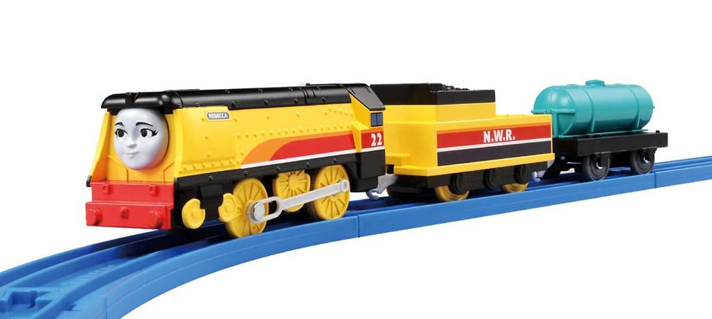 Takara Tomy Pla-Rail Plarail TS-08 Thomas The Tank Engine Rebecca Train
